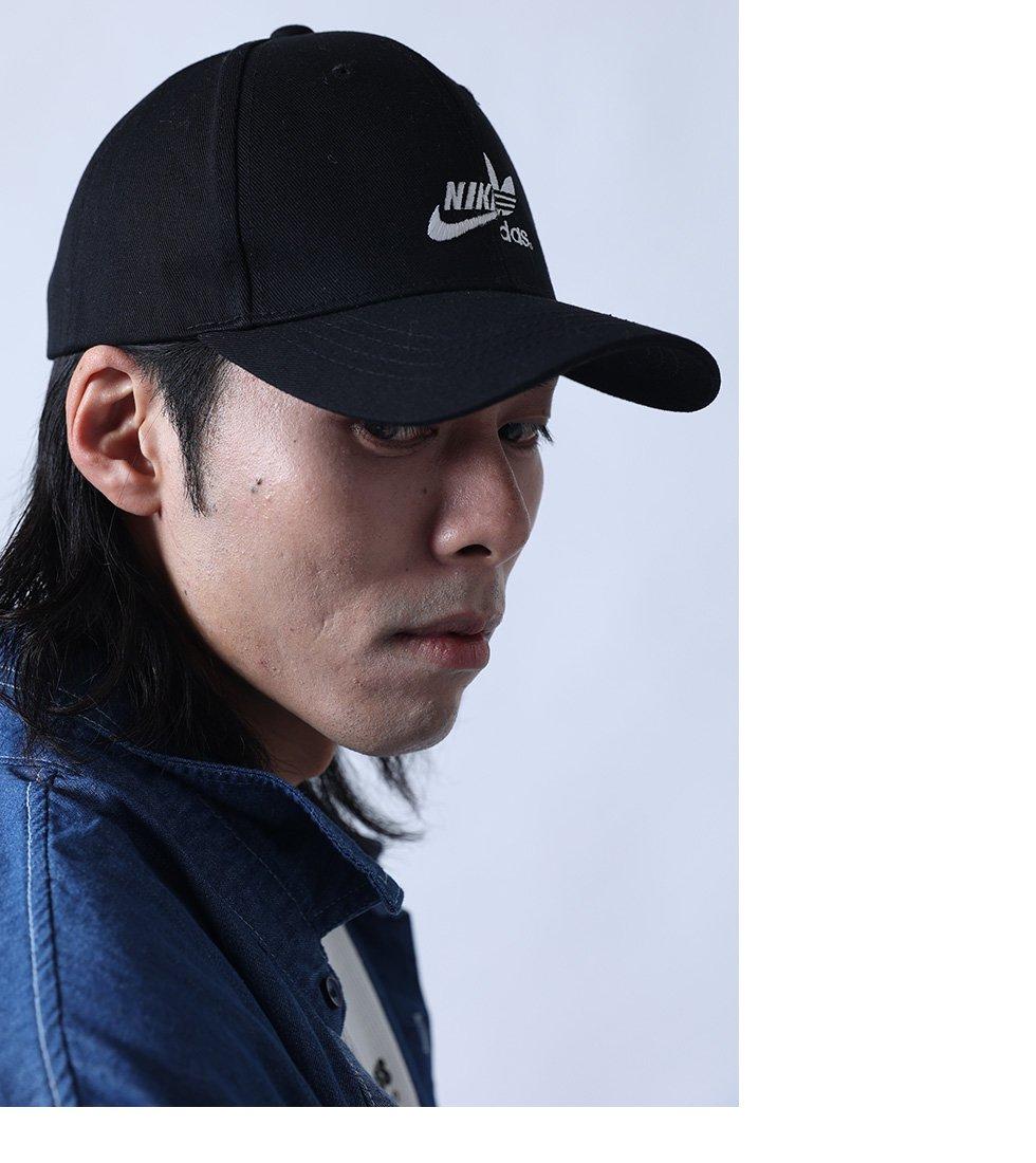AD×NK刺繍CAP