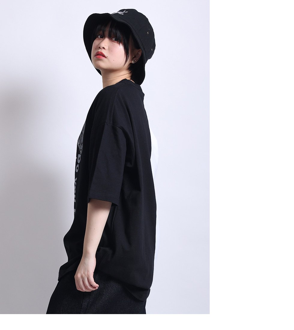 ツートンSTRIKE girl ビッグTシャツ