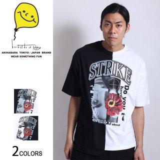 ツートンSTRIKE girl ビッグTシャツ(男女兼用)