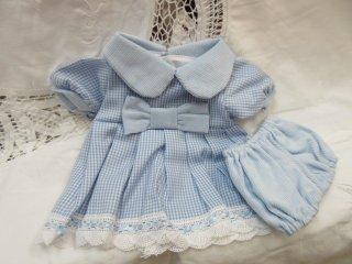 ドレス(フルールブルー)