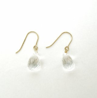Drop crystal pierce