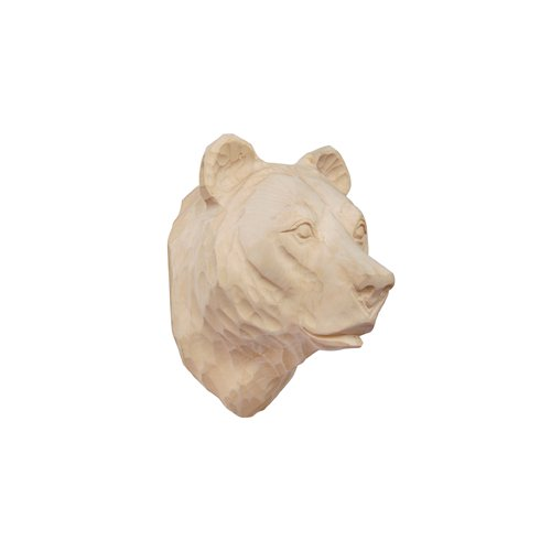 WOOD ANIMALHEAD / Bear
