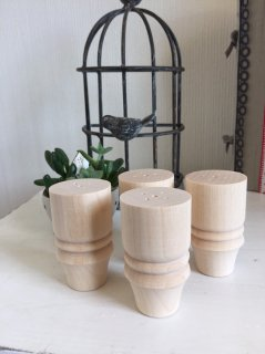 木製飾り脚 1個