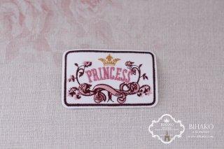 フランス製 アップリケ PRINCESS