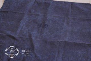 フランス直輸入♪Antique Linen アルファベット刺繍(DARK GRAY)