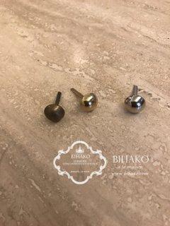 底鋲 半円 直径12mm(全3色)  gold/silver/antique