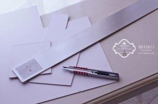 BIHAKOオリジナル♪ カルトン専用定規