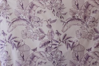 アメリカ直輸入 Paradise Toile Porcelain Fabric 全2色
