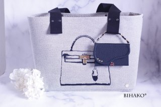 BIHAKO通信講座コース Seri's series tote bag