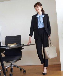 スタイルアップの足長スーツ「SU756」/学校行事・通勤・ビジネス・オフィスシーン対応