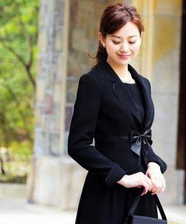 ブラックフォーマルアンサンブルスーツ「SU326」/礼服・喪服・冠婚葬祭対応