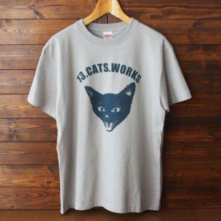 Tシャツ(VIVI FACE)-シルクスクリーン-13.CATS.WORKSオリジナル
