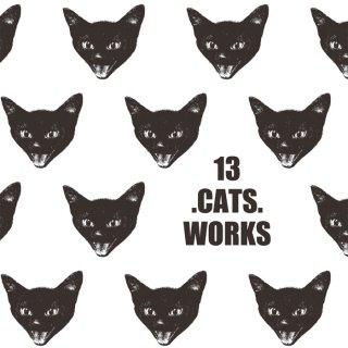 ニャーのポストカード(VIVI FACE)−13.CATS.WORKSオリジナル