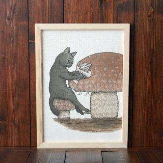 黒猫楽団『ピアノ』 複製原画A4シート