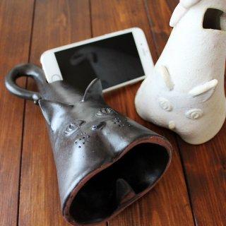 猫-陶音器(電源不用スピーカー) iPhone6対応