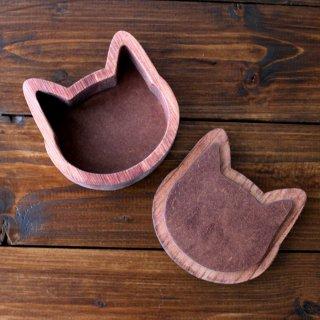 木製☆猫の小箱 チェリー
