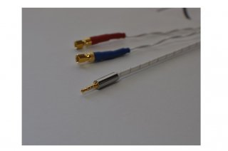 Headphone用2.5mm径プラグ mini4PxLR バランスケーブル