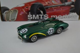 Aston Martin DB3S n.23 2nd Le Mans 1955 by SMTS 1/43 Whitemetal Model