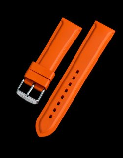Rubber Strap Racing Orange