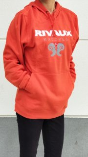 RIVAUX Hoodies/Orange color