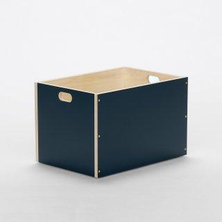 LINDEN BOX (Lサイズ / ネイビー)