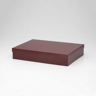 TIN BOX (Lサイズ / バーガンディ)