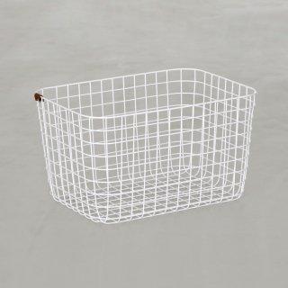 WIRE BASKET (L / white)