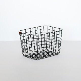 WIRE BASKET (M / black)