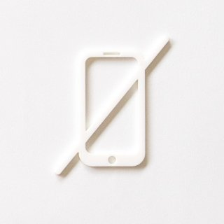 NO PHONE (white)<img class='new_mark_img2' src='https://img.shop-pro.jp/img/new/icons5.gif' style='border:none;display:inline;margin:0px;padding:0px;width:auto;' />