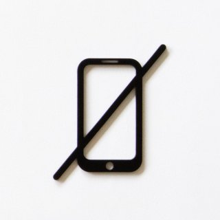 NO PHONE (black)<img class='new_mark_img2' src='https://img.shop-pro.jp/img/new/icons5.gif' style='border:none;display:inline;margin:0px;padding:0px;width:auto;' />