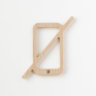 NO PHONE (white oak)<img class='new_mark_img2' src='https://img.shop-pro.jp/img/new/icons5.gif' style='border:none;display:inline;margin:0px;padding:0px;width:auto;' />