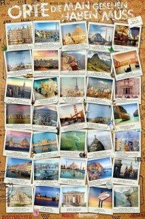 一度は訪れたい世界の名所 ポスター