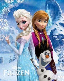 アナと雪の女王 ポスター(ミニサイズ)