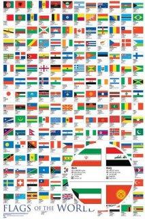 世界の国旗 ポスター