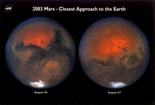 2003年火星大接近 ポスター