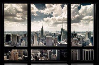 ニューヨークの眺め ポスター