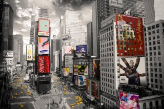 タイムズスクエア ポスター