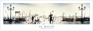 キス -イタリア ヴェネチア- ポスター