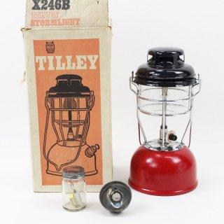 1974年8月◆新品◆ Tilley テリー 246B ブラック/レッド