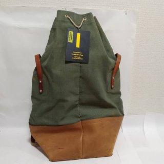 ◆希少 新品◆ スイス軍 キャンバス&レザー ダッフルバッグ トートバッグ ヴィンテージ 190620-20