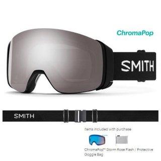 ラスト1 2020 SMITH スミス 4D MAG アジアンフィット クロマポップ BLACK ゴーグル 191108-01