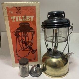 イギリス製 Tilley テリー 246B 箱付 ブラス 1972年3月 中古 ケロシン ランタン ティリー キャンプ 191121-30