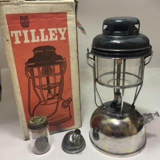 イギリス製 Tilley テリー 246B 箱付 ニッケル 1967年2月 中古 ケロシン ランタン ティリー キャンプ 191121-33