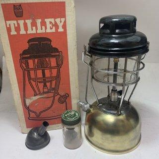イギリス製 Tilley テリー 246B 箱付 ブラス 1974年3月 中古 ケロシン ランタン ティリー キャンプ 191121-35