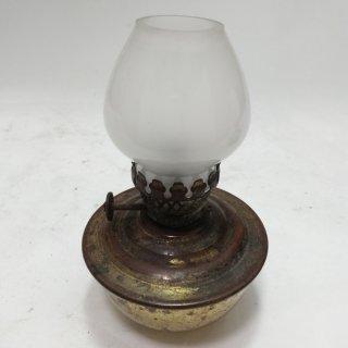 イギリス製 ケリーランプ kelly lamp アンティーク ミルクガラス オイルランプ 191121-55