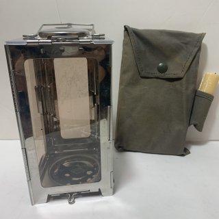 ☆中古☆スイス軍 キャンドルランタン フォールディングランタン SWISS MILIITARY Folding Lantern Candle Original 190713-45
