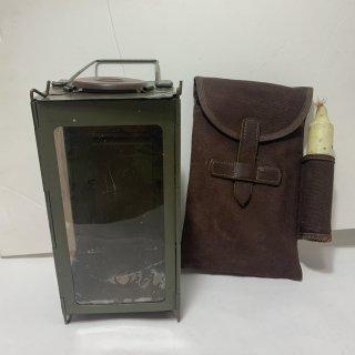 ☆中古☆スイス軍 キャンドルランタン フォールディングランタン SWISS MILIITARY Folding Lantern Candle Original 190713-47