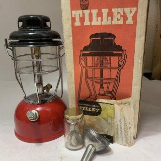 イギリス製 Tilley テリー 246B 箱付 レッド 中古 ケロシン ランタン ティリー キャンプ 190903-42