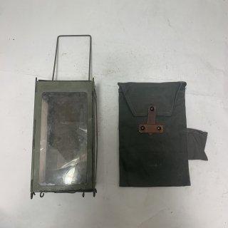 ☆中古☆スイス軍 キャンドルランタン フォールディングランタン SWISS MILIITARY Folding Lantern Candle Original 191029-03