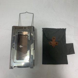 ☆中古☆スイス軍 キャンドルランタン フォールディングランタン SWISS MILIITARY Folding Lantern Candle Original 191029-05
